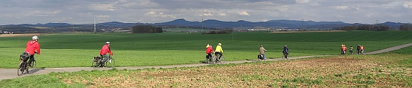 Breitbild Ortsrand Künzell im April 2016